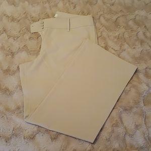 LOFT julie beige pants sz 14